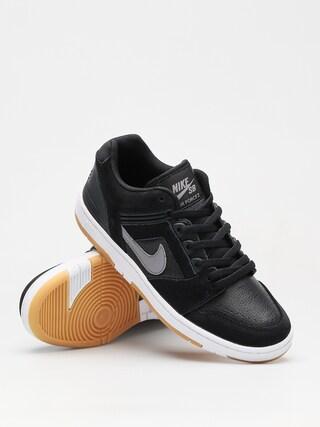 Buty Nike SB Sb Air Force II Low (black/gunsmoke white gum light brown)