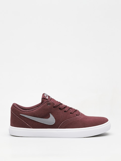Buty Nike SB Sb Check Solarsoft (burgundy crush/gunsmoke white black)