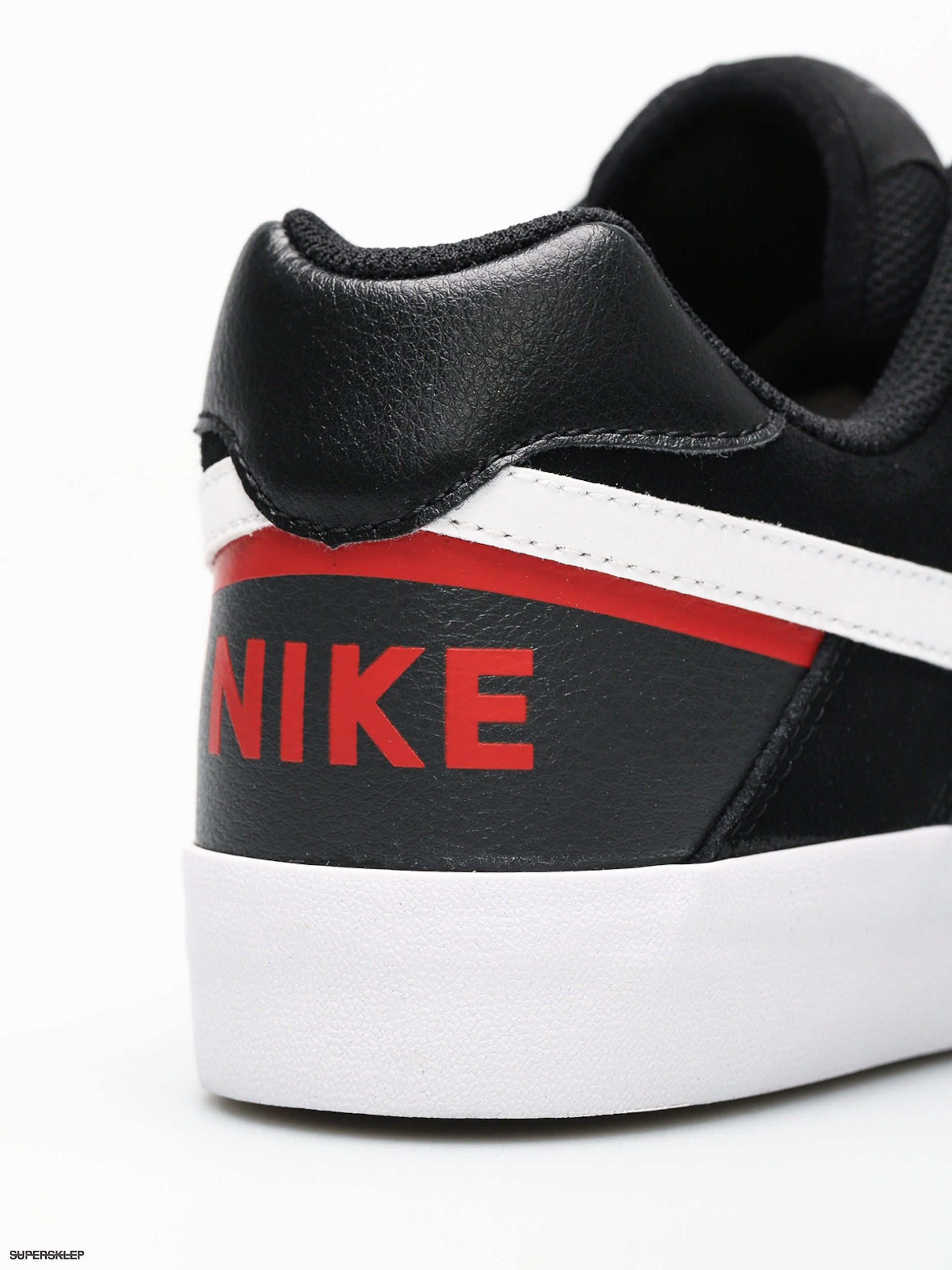 sneakers for cheap b7021 0cfb4 Buty Nike SB Sb Delta Force Vulc (blackwhite habanero red)
