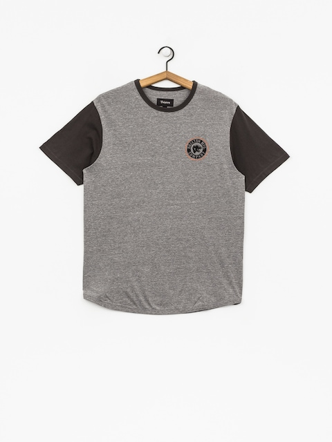T-shirt Brixton Forte III Knt (heather grey/washed black)