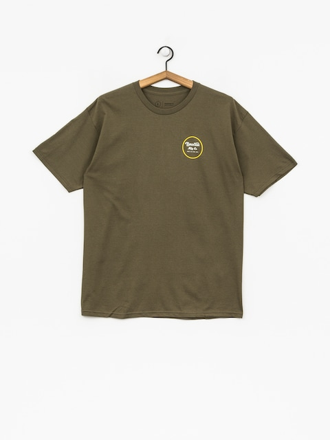 T-shirt Brixton Wheeler II Stnd (olive)