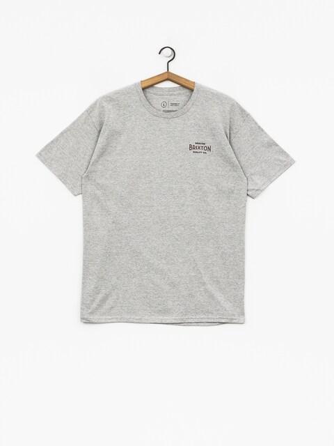T-shirt Brixton Cinema Stt (heather grey)