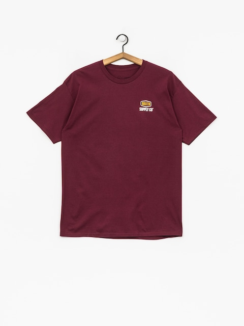 T-shirt Brixton Slade Stt (burgundy)