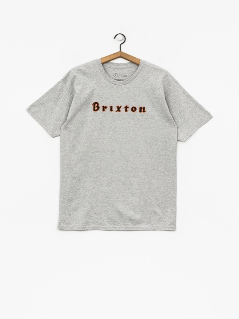 T-shirt Brixton Proxy Stt (heather grey)