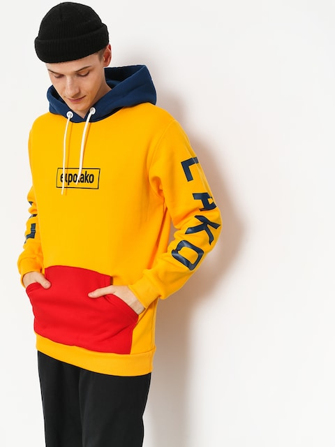 Bluza z kapturem El Polako Cons HD (yellow)