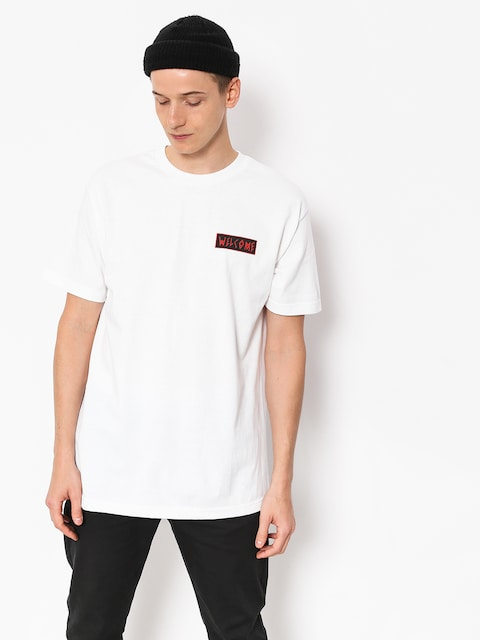 T-shirt Welcome Balance (white/black/red)