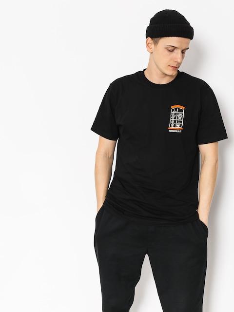T-shirt Turbokolor Window (black)