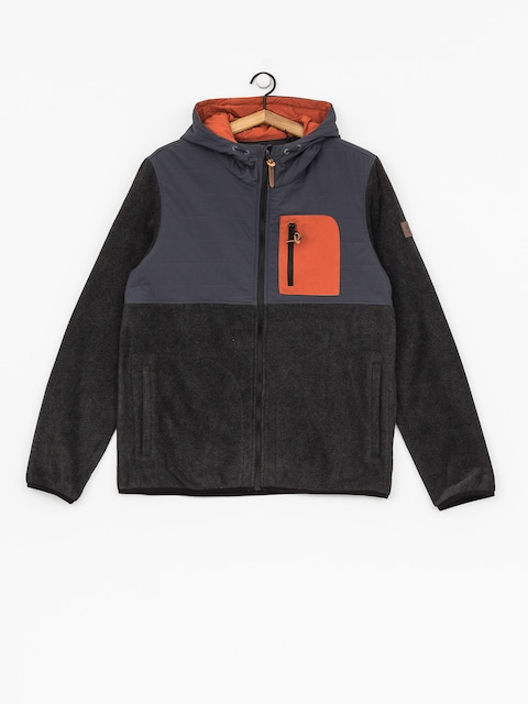 Bluza z kapturem Element Trent ZHD (black heather)