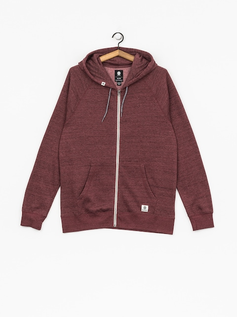 Bluza z kapturem Element Meridian ZHD (oxblood red)