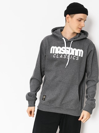 Bluza z kapturem MassDnm Classics HD (dark heather grey)