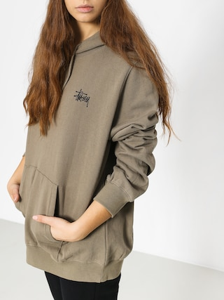 Bluza z kapturem Stussy Scout HD Wmn (taupe)