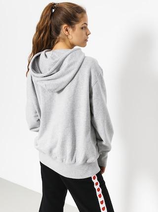 Bluza z kapturem Stussy Kira HD Wmn (grey heather)