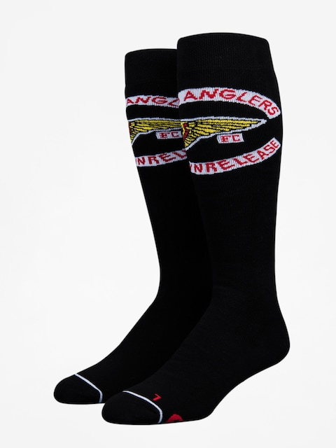 Skarpety Stinky Socks Chris Bradshaw Hells Anglers Collab (black/ha logo)