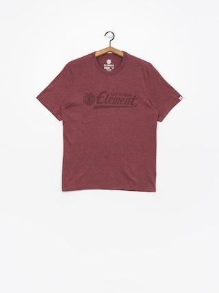 T-shirt Element Signature (oxblood heather)
