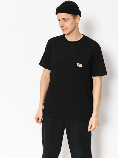 T-shirt Turbokolor Tag Pocket (black)