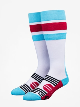 Skarpety Stinky Socks Stripe (white/blue/red)