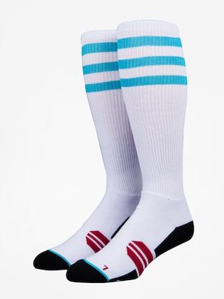 Skarpety Stinky Socks Three Stripes (white /blue)