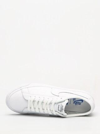Buty Nike SB Sb Zoom Blazer Low NBA (white/white rush blue university red)