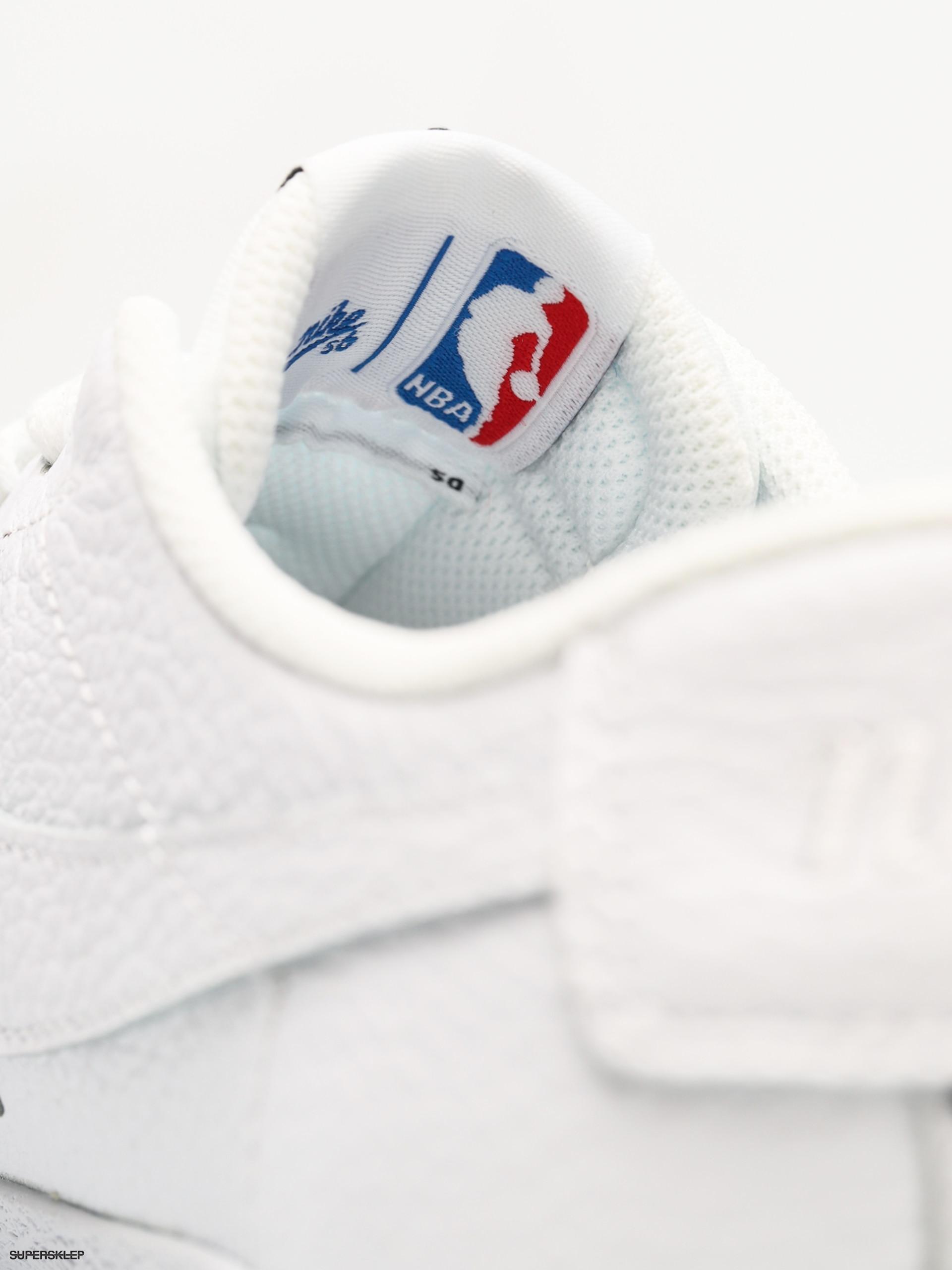 014dca06cb21a Buty Nike SB Sb Zoom Blazer Low NBA (white white rush blue university red)