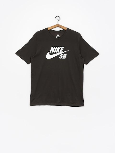 T-shirt Nike SB Sb Logo (sequoia/sequoia/white)