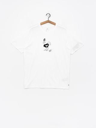 T-shirt Nike SB Sb Dry Tee Dfc Ostrich (white/white/black)