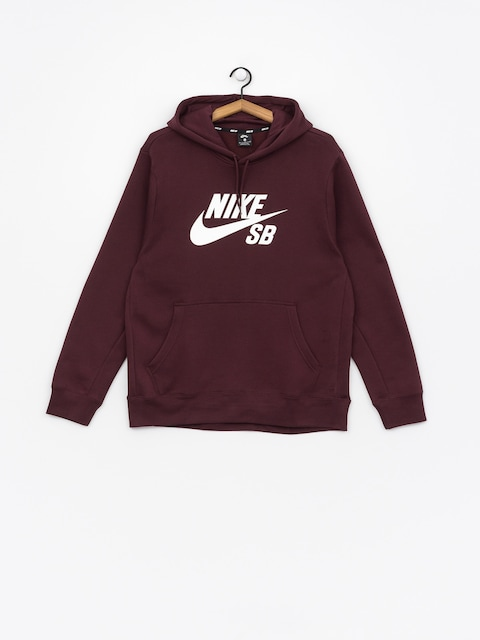 Bluza Nike SB Sb Icon (burgundy crush/white)