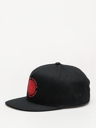 Czapka z daszkiem HUF Spitfire Swirl Snapback ZD (black)