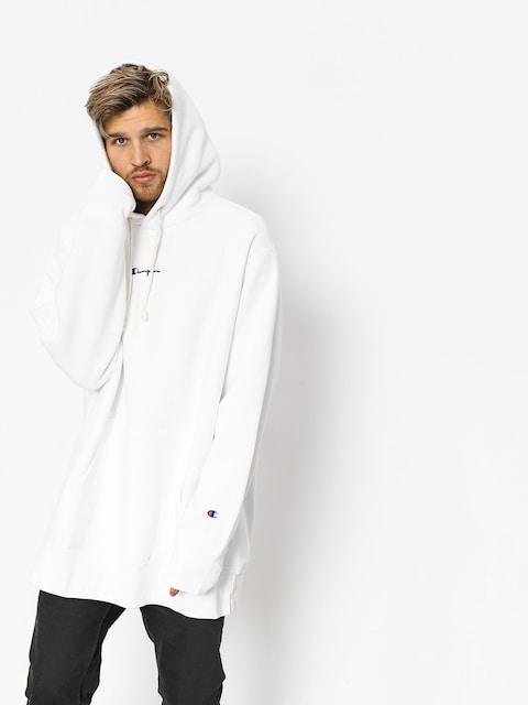 Bluza z kapturem Champion Hooded Oversize Sweatshirt HD (wht)