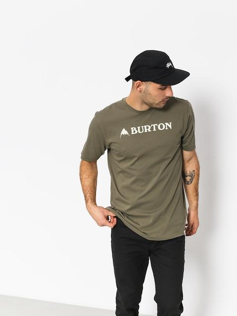 T-shirt Burton Horizntl Mtn (dusty olive)