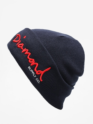 Czapka zimowa Diamond Supply Co. Og Script Beanie (navy)