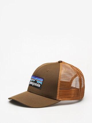 Czapka z daszkiem Patagonia P 6 Logo Trucker ZD (sediment)