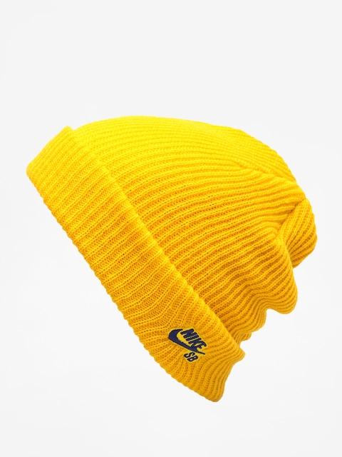 Czapka zimowa Nike SB Sb Fisherman Beanie (yellow ochre/blue void)