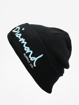 Czapka zimowa Diamond Supply Co. Og Script Beanie (black)