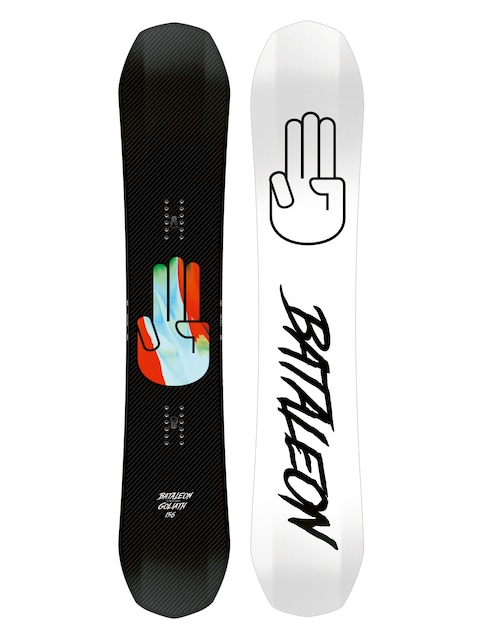 Deska snowboardowa Bataleon Goliath (white/black)