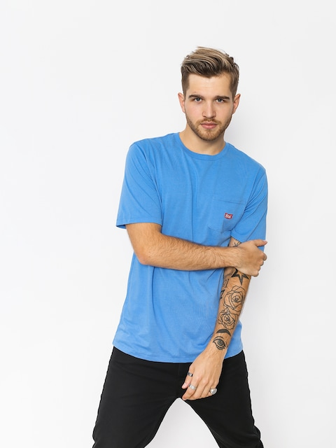 T-shirt Brixton Stith Wl Pkt (washed royal)