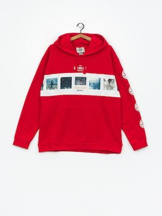Bluza z kapturem Element Negative HD (fire red)