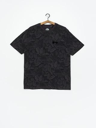 T-shirt Element Griffin Leaf Camo (flint black)