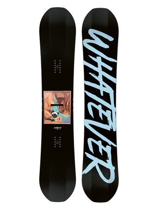 Deska snowboardowa Bataleon Whatever (black/blue)