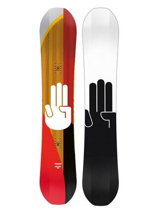 Deska snowboardowa Bataleon Funkink (white/black)