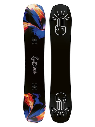 Deska snowboardowa Bataleon Distortia Wmn (black/white)