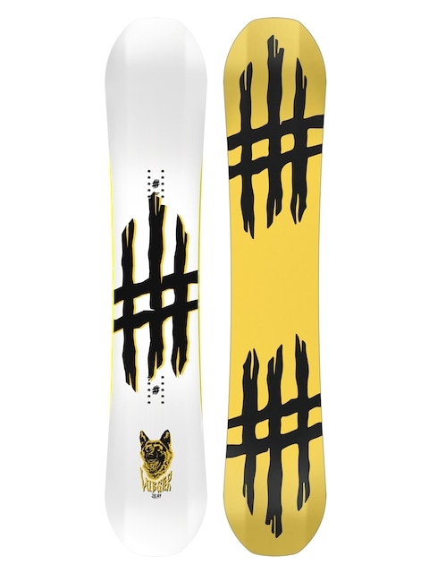 Deska snowboardowa Lobster Jib (yellow/black)