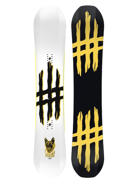 Deska snowboardowa Lobster Jib (black/yellow)