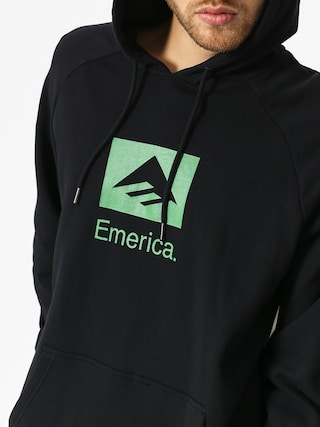 Bluza z kapturem Emerica Brand Combo HD (black)