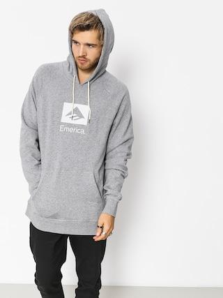 Bluza z kapturem Emerica Brand Combo HD (grey/heather)