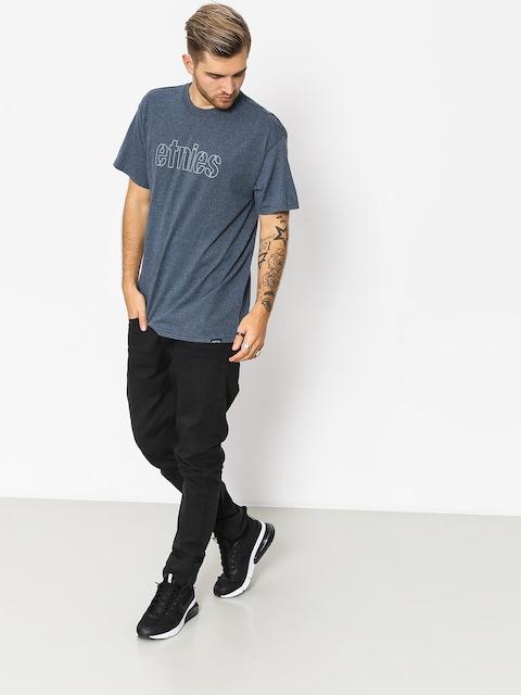 T-shirt Etnies Mod Stencil (navy/heather)