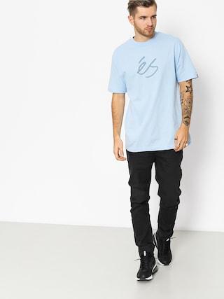 T-shirt Es Mid Script Tech (light blue)