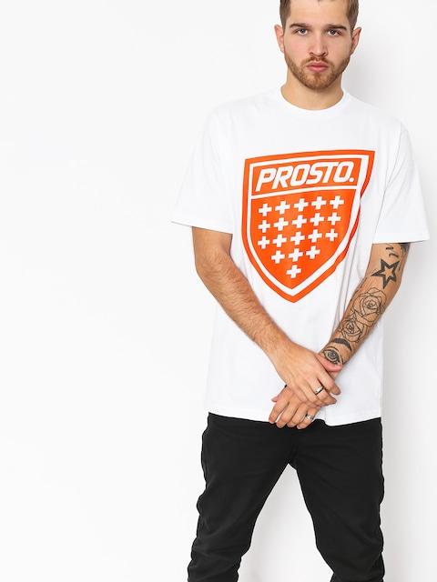 T-shirt Prosto Shield Xix (snow)
