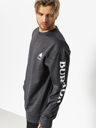 Bluza Burton Oak Crew (true black heather)