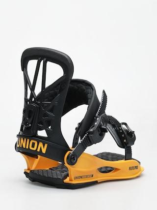 Wiązania snowboardowe Union Flite Pro (black yellow)