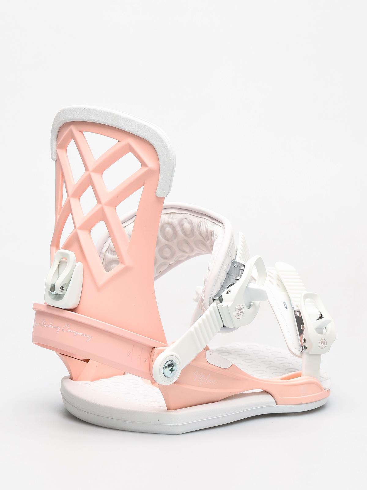 Wiu0105zania snowboardowe Union Milan Wmn (pink)